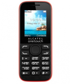 Alcatel One Touch 1052D Red