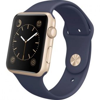 Apple Watch Sport 42mm Blue Gold